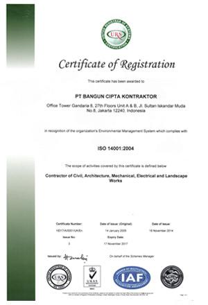 sertifikat ISO