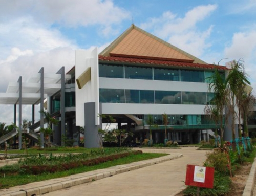 Parliament Building in Palembang
